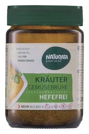 Kräuter Gemüsebrühe hefefrei - Bio - Naturata - 200g