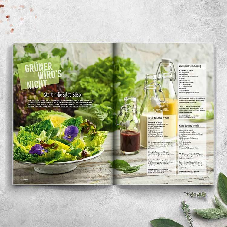 Start in die Salat-Saison