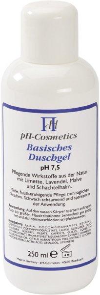 Basisches Duschgel - pH 7,5 - 250ml