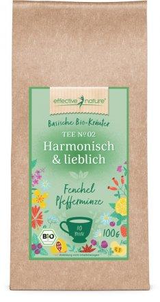 Harmonisch-lieblicher Bio-Kräutertee