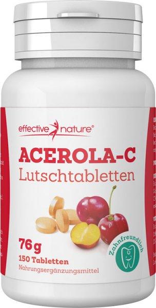Acerola Lutschtabletten - 150 Stk. - 76g