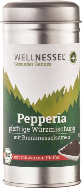 Brennnessel-Würzmischung Pikant (Pepperia) - Bio - 40g