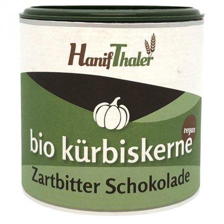 Kürbiskerne-Bitterschokolade - Bio - 100g