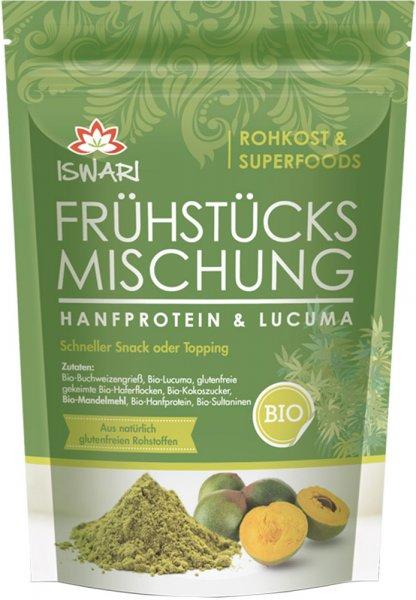 Frühstücksmischung Hanf-Protein-Lucuma - Bio