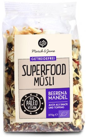 Superfood-Müsli Beeren & Mandel