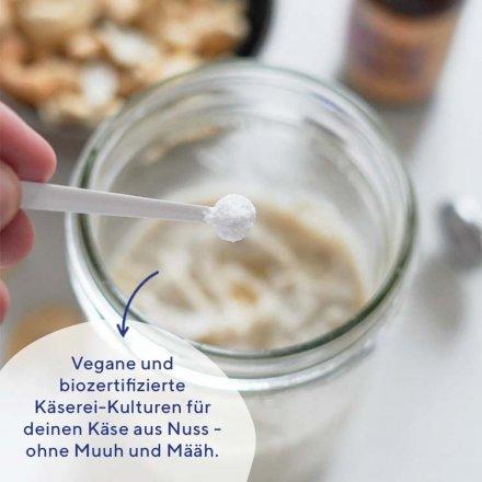 Keinkäse Starter - vegane Bio Kulturen für vegane Käsealternativen