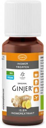 Ingwer Tropfen - Bio - 20ml
