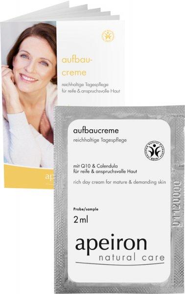 Aufbaucreme - reichhaltige Tagespflege mit Q10 & Calendula - Tester - 2ml