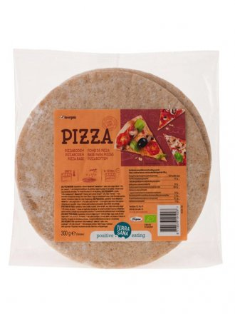 Pizzaböden 2 Stück - Terrasana - Bio - 300g