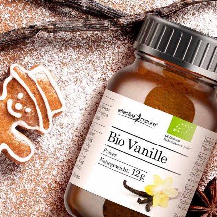 Vanille-Pulver