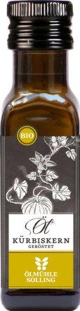 Kürbiskernöl geröstet - Bio - 100ml