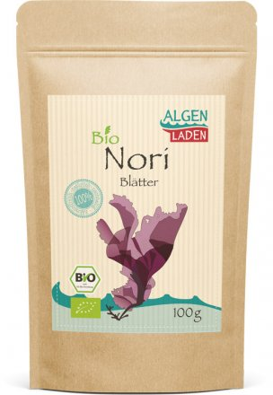 Nori Blätter - bio - 100g