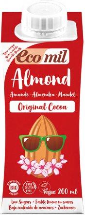 Mandel Drink Original Kakao mit Agavendicksaft - EcoMil - Bio - 200ml