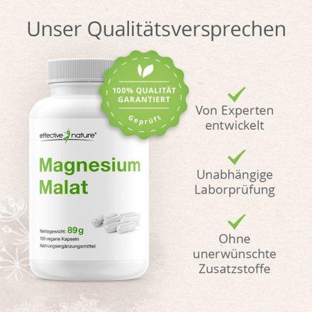 Magnesiummalat - 150 Kapseln