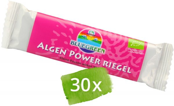 Algen Power-Riegel Vorratspack