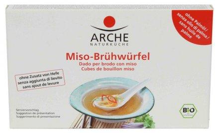 Miso-Brühwürfel - Arche - Bio - 80g