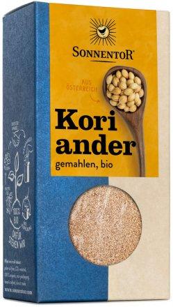 Gemahlener Koriander - in Bio-Qualität