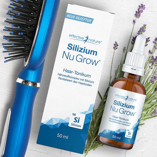 Silizium Nu Grow - Haar-Tonikum