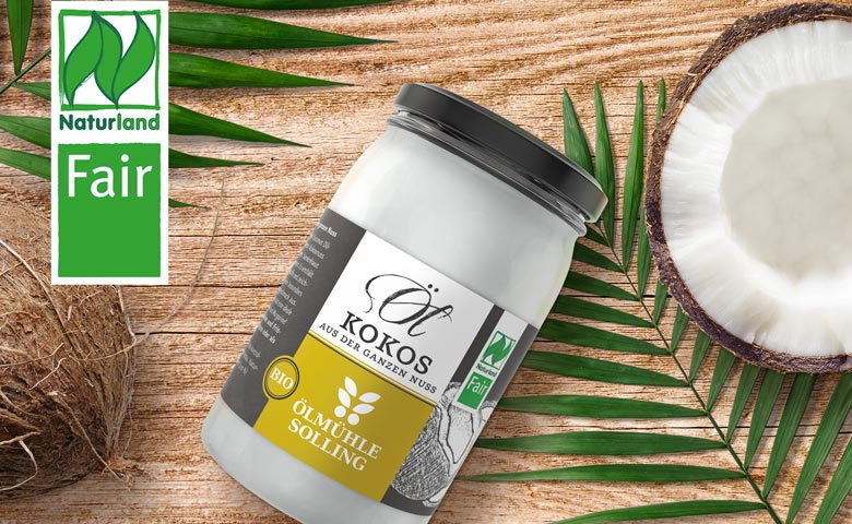 Product image fair trade coconut oil