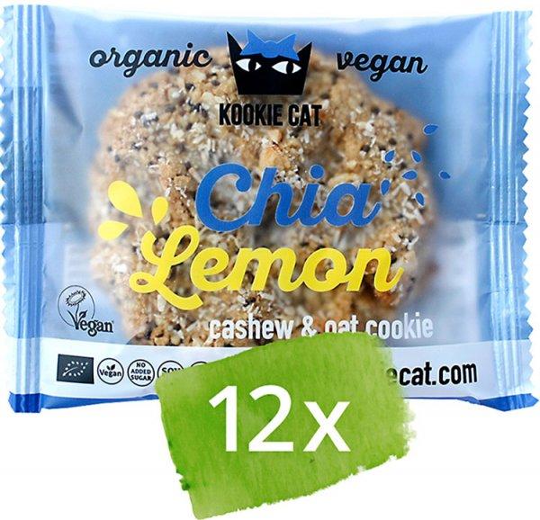 Cookie Chia-Zitrone - Bio - 12 x 50g