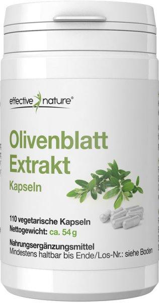 Olivenblatt Extrakt 20% Kapseln - 110 Stk. - 54g