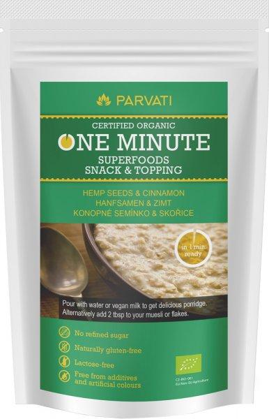 One Minute Snack - Hanfsamen & Zimt - Bio - 300g