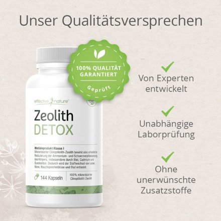 Simple Clean Detox mit Zeolith