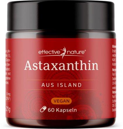 Veganes Astaxanthin aus Island