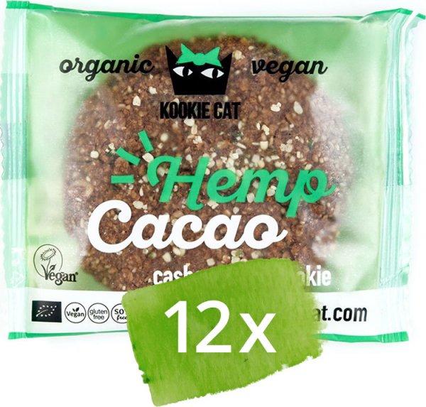 Cookie Hanfsamen-Kakao - Bio - 12 x 50g