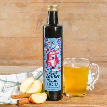 Apfelzauber Punsch Sirup - Bio - 500 ml