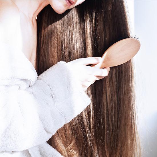 Silizium für kraftvolles Haar