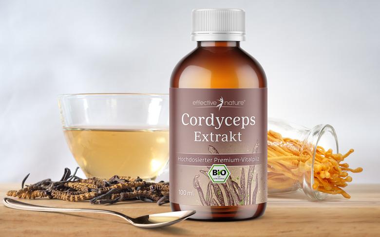 Cordyceps Flüssigextrakt von effective nature