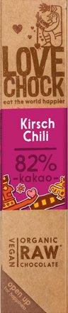 Lovechock Riegel Kirsch / Chili - Bio - 40g