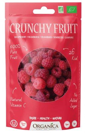 Crunchy Fruit Himbeeren gefriergetrocknet - Organica - Bio