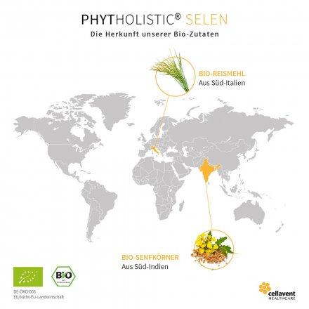 Selen Kapseln - Natürliches Selen aus Bio-Senfkörnern