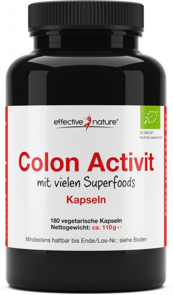 Colon Activit Kapseln - Bio - 180 Stk. - 110g