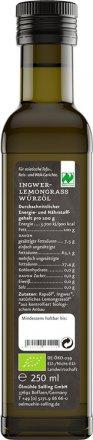Ingwer-Lemongras Würzöl auf Rapsöl-Basis
