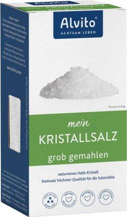 Halit Kristallsalz grob gemahlen - 500 g