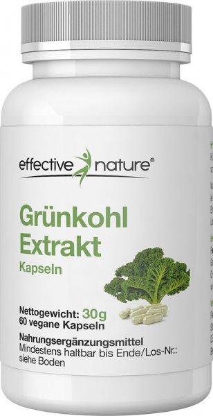 Grünkohl-Extrakt Kapseln - 60 Stk. - 30g