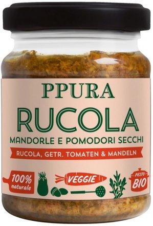 Pesto Rucola Tomaten & Mandeln - Bio - 120g