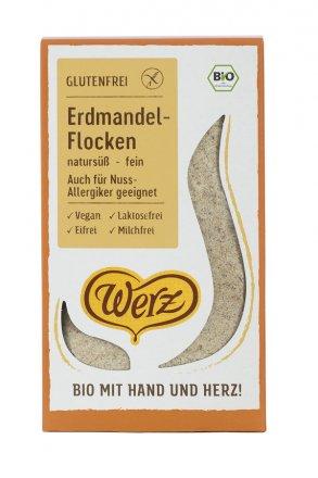 Glutenfreie Erdmandel-Flocken - in Bio-Qualität