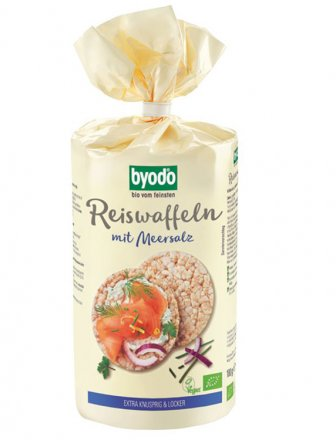 Reiswaffeln mit Meersalz - Bio - Byodo - 100g