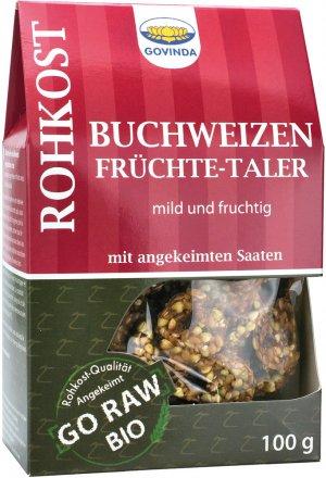 Buchweizen Früchte-Taler - Bio - 100g