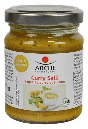 Curry-Saté Würz- und Dipsauce - Arche - Bio - 125g