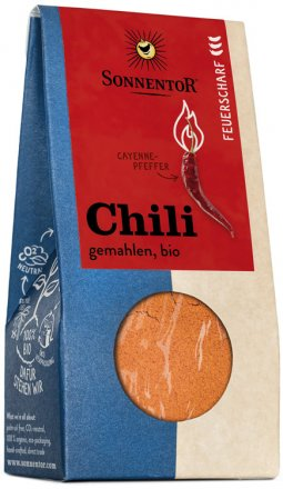 Feuerscharfe Chili - gemahlen
