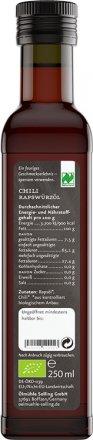 Chili Rapswürzöl Naturland - Bio - 250ml