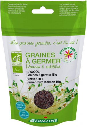 Sprossen Keimsaat Brokkoli - Bio - 150g