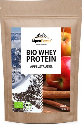 Bio Whey Protein - Apfelstrudel - 500g