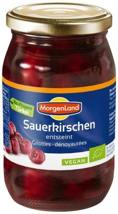 Sauerkirschen entsteint - Morgenland - Bio - 360g