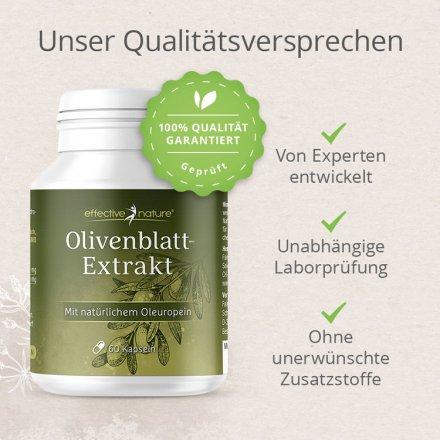 Hochwertiger Olivenblattextrakt in Kapseln